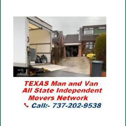 Texas Man And Van in New Home