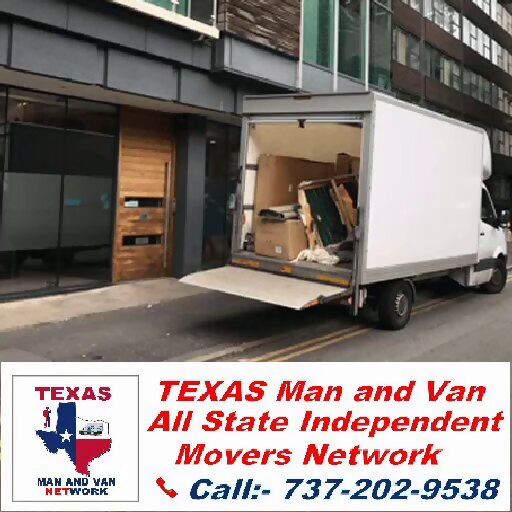 Texas Man And Van in Brookesmith
