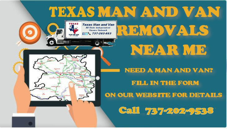 Texas Man And Van in Coleman