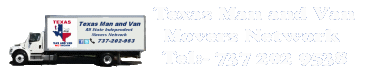 Texas Movers Man and Van Network